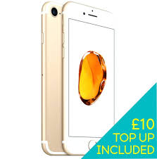 Iphone Pay As You Go 7 Gold Smartphone Pay As You Go 7 Gold