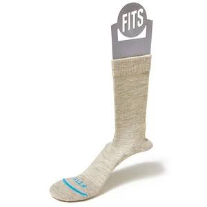 Fits Light Hiker Crew Socks Stone / S