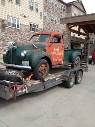 100 1947 Studebaker Truck ARMY SURPLUS 47 Pick Up Pembina ND
