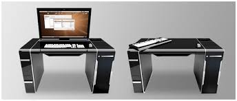 bureau informatique design meubles design ordinateur en ce qui concerne bureau informatique
