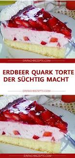 erdbeer quark torte der süchtig macht