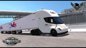 Tesla Semi Truck Fedex American Truck Simulator - YouTube Fedex Truck How To Get A Route For Ground Chroncom Ambient Advert By Miami Ad School Always First Truck Ads Of Epic Blizzard Strands 6 Freight Drivers Rerves 20 Tesla Electric Semi Trucks Ceo Sounds Alarm On Global Economic Sldown Axios 3 Trailer 14th April 2011 Inrstate Flickr Shocking Delivery Youtube Isuzu Reach Fedex Van Stock Photos Images Alamy Delivers On Green Goals With Electric Trucks Salaries And Pay
