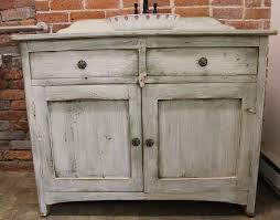 Rustic Style Bathroom Vanities White Vanity And Sink