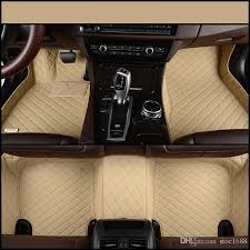 Bmw X5 Carpet Floor Mats by 2017 Scot All Weather Leather Car Floor Mats For Bmw X5 5 Seats