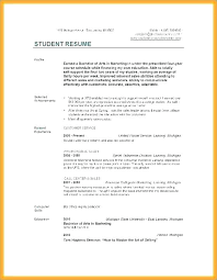 Resume College Graduate No Experience With Freshman Examples Resumes For Students