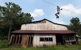 Rethinking Zip Line Safety After The Death Of A Child | Charlotte ... Backyard Zipline Completed Photo On Stunning Zip Line No Tree Houses Lines 25 Unique Line Backyard Ideas On Pinterest Zipline What Do You Guys Think Of This Kids Guy A Most Delicious French Country Home In My Village Family Ideas Best How To Build Platform Home Outdoor Decoration Movie Theater Screens Refuge Youtube Landscaping For