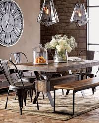 Industrial Dining Table Traditional Tables Kitchen And Bench