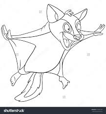 Crazy Flying Squirrel Is Planing