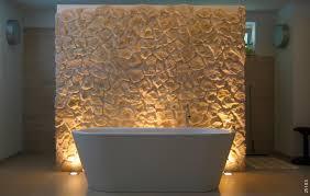 14 badezimmer mit steinwand ideen steinpaneele wandsteine