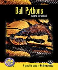 Ball Python Bedding by Ball Pythons Complete Herp Care Colette Sutherland