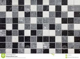 black white and gray mosaic tiles stock illustration image