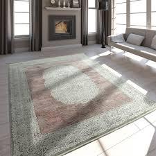 teppich kurzflor vintage 3 d effekt teppich orient