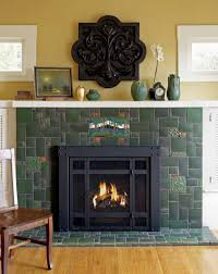 Batchelder Tile Fireplace Surround by Fireplace Ideas For Bungalows Old House Restoration Products