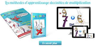 comment apprendre table de multiplication multimalin multi malin