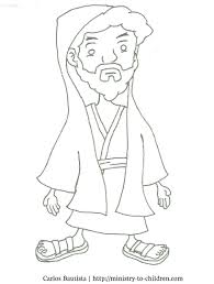 John Baptist Coloring Page The Pages Printable Birth Of Full Size