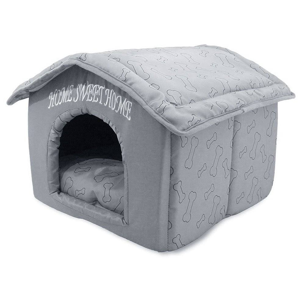 Best Pet Supplies Home Sweet Home Pet House - Silver