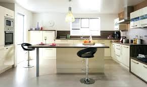 cuisine am駻icaine avec ilot central table ilot central table centrale cuisine ilot 1 ilot central table