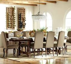 Rustic Elegant Dining Table Formal Extending Pottery Barn Room Tables