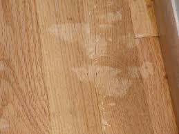 Applying Minwax Polyurethane To Hardwood Floors by Refinishing Floors Wood Has Blotches Where Filler Was Used