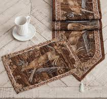 CLEARANCE Deer Table Linens