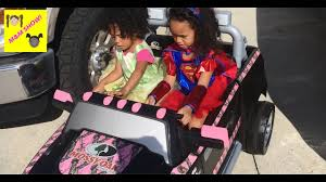 100 Trucks For Girls Super Girl Driving Pink Monster Truck Tiana Rides Outside Toy