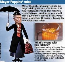 Bloomberg s ban prohibits 2 liter soda with your pizza and some