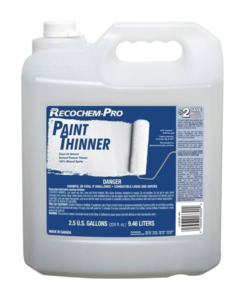 Recochem-Pro 1860816 2.5 Gal Paint Thinner - Pack of 2