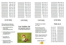 comment apprendre table de multiplication jeux les tables de multiplication de 2 à 9 l école de crevette