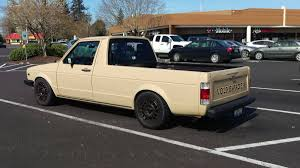 1980 MK1 VW Rabbit Caddy Pickup Truck For Sale In Portland, Oregon