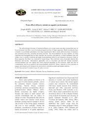 100 Itai Itai Itai 4 PDF Toxic Effect Of Heavy Metals On Aquatic Environment