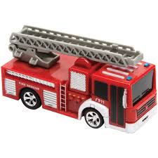 Amazon.com: COBRA RC TOYS 900612 Remote-Control Mini Fire Truck ...