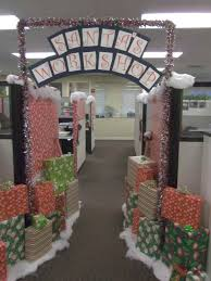 Office Christmas Decorating Ideas For Work by Cubicles Work Cubicle Decorating The Hominic Within Birthday