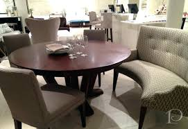 Dining Table With Settee Dining Room Settee Furniture Curved Settee
