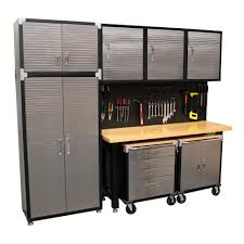 Kobalt Cabinets Extra Shelves by Garage Workbench Garage Workbench Storage Systems Systemsgarage