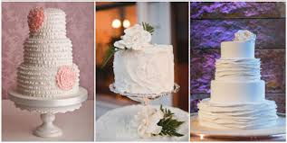 Whipped Cream Wedding Cakes