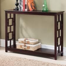 cherry console sofa tables you ll love wayfair