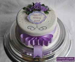A lovely cake for a memorable birthday