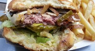 NYC Food Truck Lunch: Warrior Burger From Burger Warrior « CBS New York