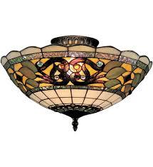 Tiffany Style Lamps Canada by Elk Lighting 941 Tb Tiffany Buckingham Vintage Antique 16 Inch