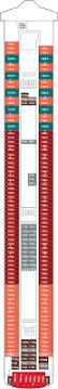 Ncl Deck Plans Pride Of America by Pearl Deck 11 460 Recat Rev020111 0 Png