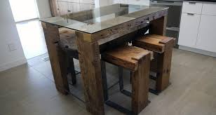 Dining Tables Mesmerizing Small Reclaimed Wood Table Barn Glass Rectangle
