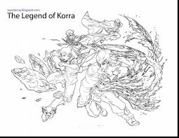 Great Avatar Legend Of Korra Coloring Pages With Lego Chima And Gorilla