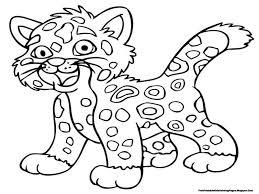 Printable Jaguar Coloring Pictures