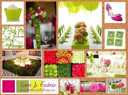 Lime Fuchsia By Utah Events Design