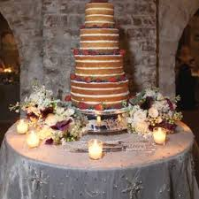 Rustic Naked Cake With Fresh Berries