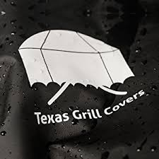 Patio Caddie Grill Cover by Amazon Com Texas Grill Covers 7554 7108 Premium Cover For