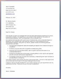 5 cover letter administrative assistant Bud Template Letter