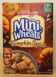 Pumpkin Pie Ingredients List by Review Pumpkin Spice Frosted Mini Wheats Cereal