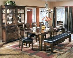 Ashley Furniture Dining Table Set Bench Wonderful The With Home Hold