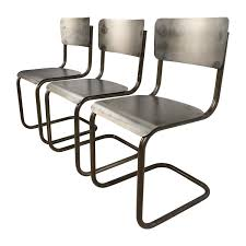 68% OFF - Industrial Style Metal Chair Set / Chairs